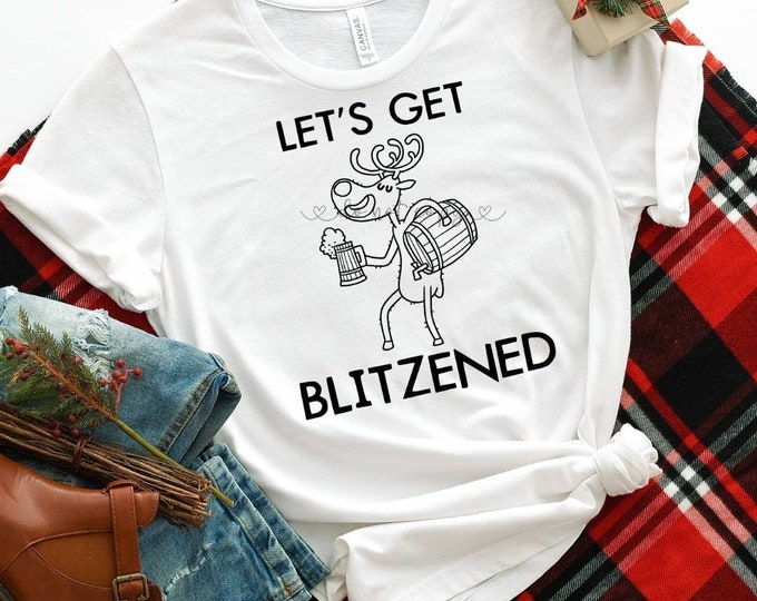 Let's Get Blitzened Graphic Tee