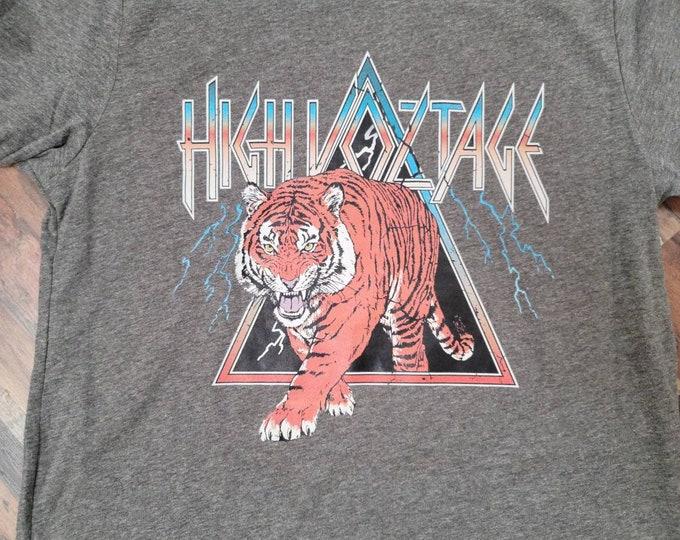 High Voltage Tiger Tee