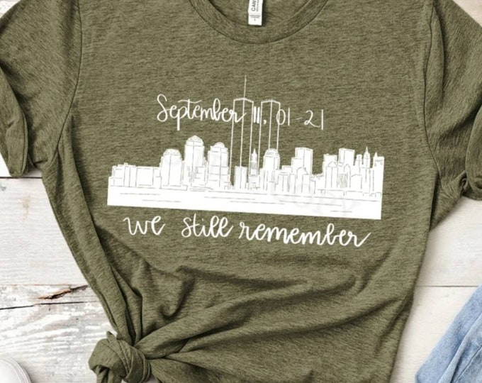We Remember 911 Graphic Tee