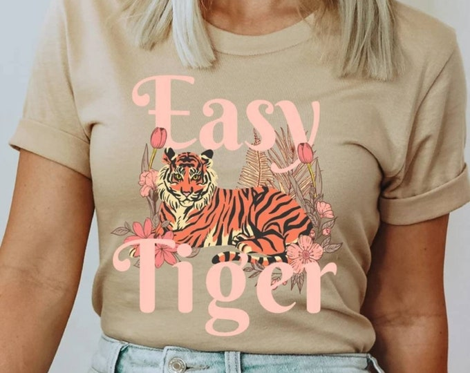 Easy Tiger Floral Tee