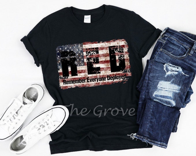 Remember Everyone Deployed, Graphic Tee