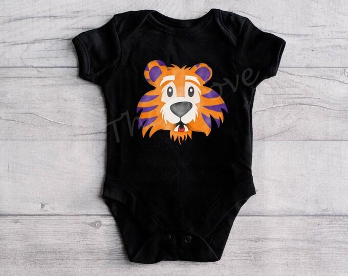 Tiger Head Onesie