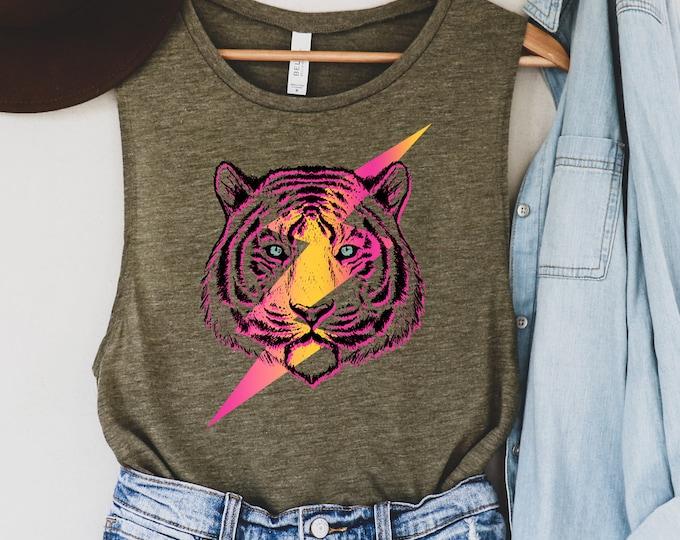 Tiger Lightening Bolt Shirt