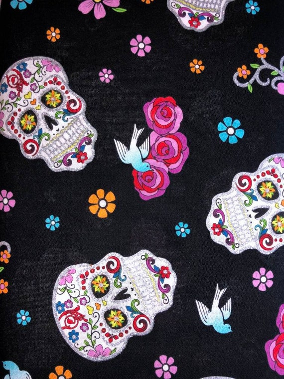Day of the Dead Print Facemask