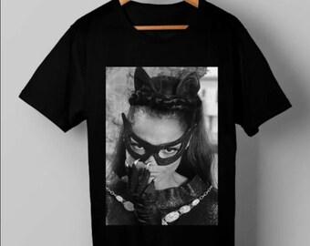 Vintage Eartha Kitt Catwoman T Shirt, Eartha Kitt Catwoman T-Shirt, Unisex T-Shirt, Retro T-Shirt, Vintage T-Shirt, Best Gift