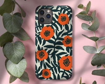 Soft Silicone X PU Leather iPhone case, iPhone 11 case, iPhone 11pro case, 11pro Max case, 8 case, 11 cover, 11pro, cute iPhone cover Floral