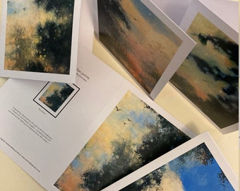 Greeting Cards - 5 pack from the Signed Limited Edition Prints