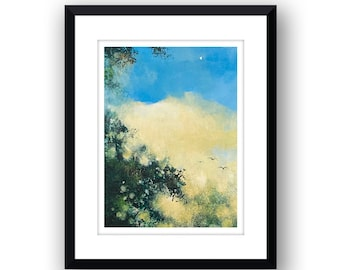 Early Star - Signed Limited Edition, mounted print.