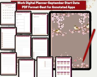 Dated School Planner | GoodNotes Planner| Digital Planner | Sticker Books | Work Planner
