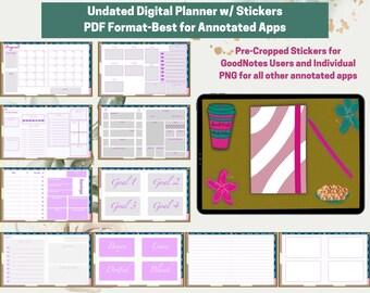 Digital Planner **undated**
