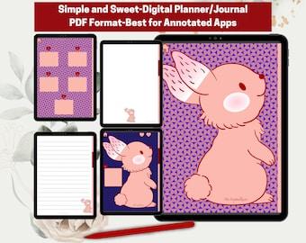 Digital Planner I Digital Journal I Good Notes Journal I Writing Journal I Annotated Journal