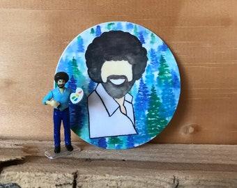 Bob Ross- Happy Trees Sticker