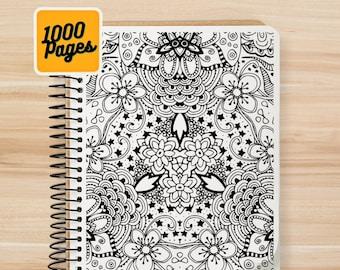 1000 Adult Mandala Coloring Pages - V1