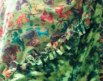 Dragon Tie Blanket