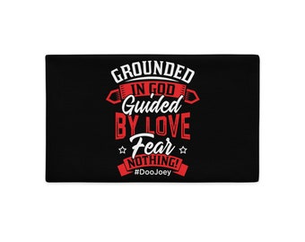 Grounded in God - Premium Pillow Case