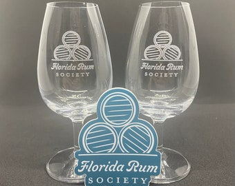Florida Rum Society Copitas - Set of 2