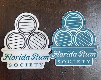 Florida Rum Society Decals