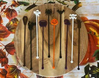 Halloween Swizzle Sticks