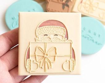 Santa small stamp