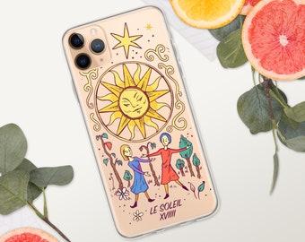 Cover for iPhone - Arcane Soleil Tarot - iPhone 11, 11 Pro, 11 Pro Max, 12, 12 mini, 12 Pro, 12 Pro Max, SE