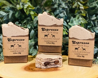 Espresso ~ Goat Milk Soap