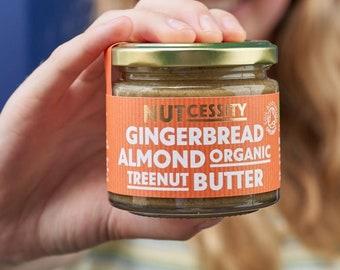 5x Organic Gingerbread Almond Nut Butter (5-Pack)