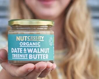 Organic Date & Walnut Nut Butter 180g