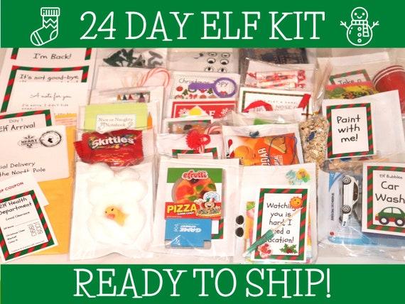 Elf Kit 24 day Elf Kit Christmas Elf Kit Elf Accessories