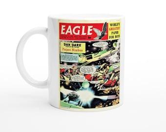White 11oz Ceramic Mug With Picture - Eagle Magazine/Dan Dare