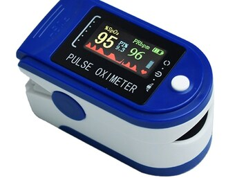 High Quality Finger Pulse Oximeter Blood Oxygen Saturation Monitor Heart Rate