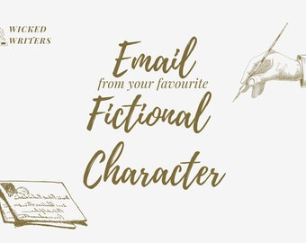 Email from your favourite character!