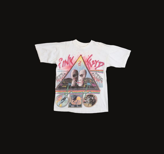 1994 Tour The Division Bell Pink Floyd Rock T-shirt