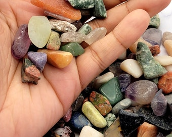 Assorted Rock Collection, Topaz, White Turquoise, Grey Agate, Unakite, Tiger Stone, Red Agate, Indian Agate, Alabaster, Crystal violet, More