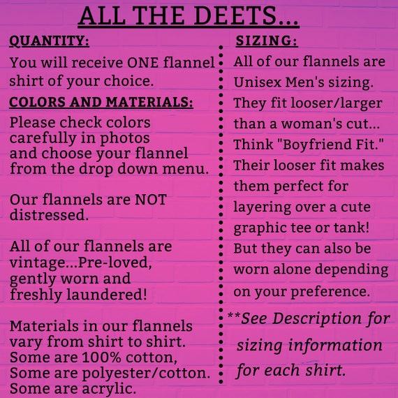 Vintage Flannel Shirts Heavy Cotton, Women's Flan… - image 7