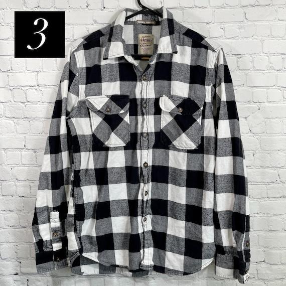 Vintage Flannel Shirts Size Medium, Women's Flann… - image 6