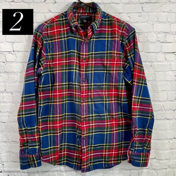 Vintage Flannel Shirts Size Medium, Women's Flann… - image 5