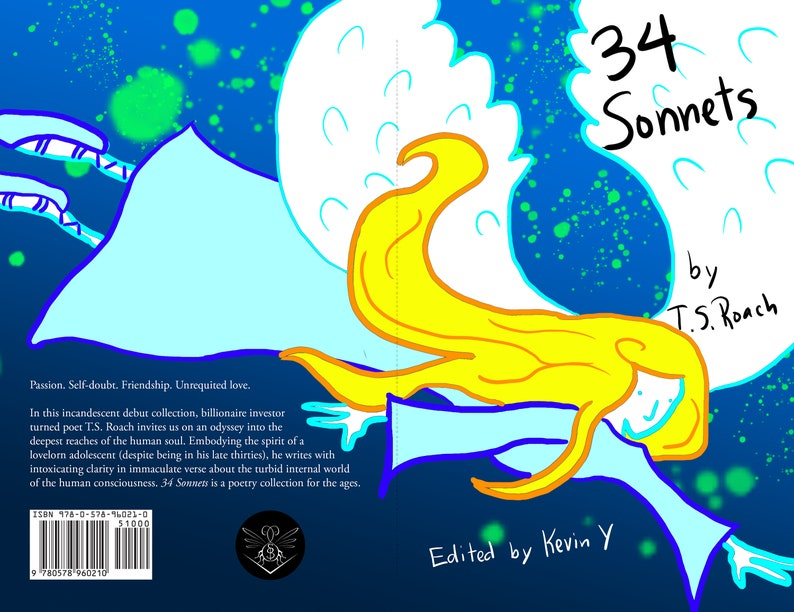 34 Sonnets by T.S. Roach pre-order now image 0