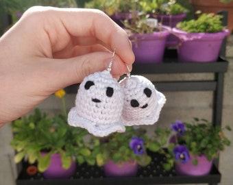 Crochet Boo! Earrings