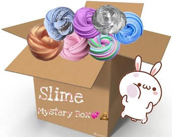 mystery slime box comes with free 2oz slime