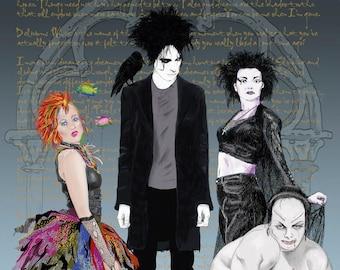 Sandman and his sisters