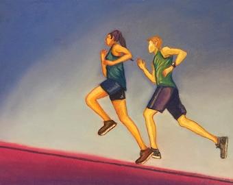 Running for Energy Original Painting