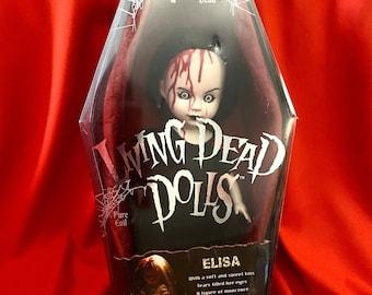 "Living Dead Doll, Rare Elisa Variant,   Vintage Dead Dolls, Elisa Variant by Mezco Toys, ""I sleep with the worms…"""