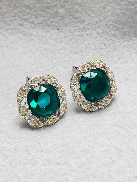 Vtg Sarah Coventry Clip On Earrings - image 1