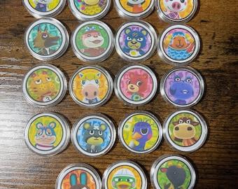 Animal Crossing Villager Coin