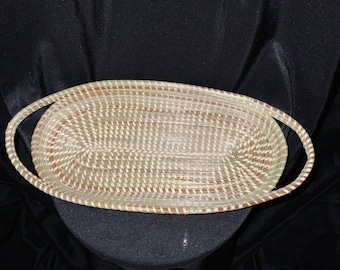 Sweetgrass Oval Basket