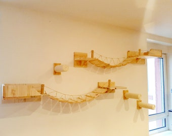 Wooden wall course