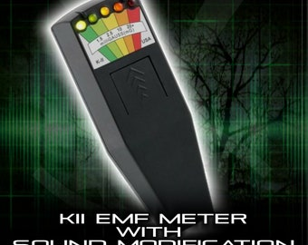 K2 EMF Meter, With Sound Alarm Buzzer. Ghost Hunting and Paranormal Equipment