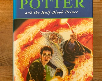 Harry Potter & the Half Blood Prince First Edition with mistake