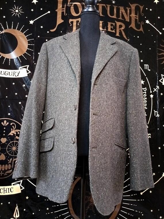 Vintage Hermes. 100% Cashmere Blazer