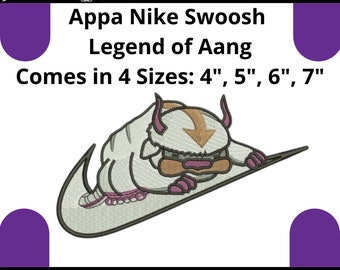 App4 embroidery design avatar air bender